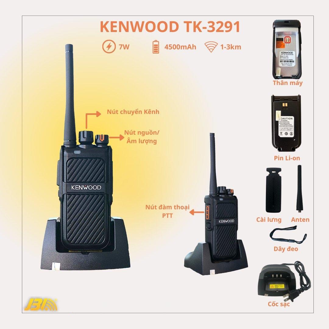 Bộ đàm Kenwood TK-3291