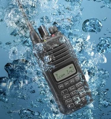 Bộ đàm cầm tay Icom IC-V88 - Chống nước, Chống bụi IP67