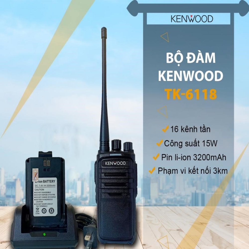 Bộ đàm cầm tay Kenwood TK-6118