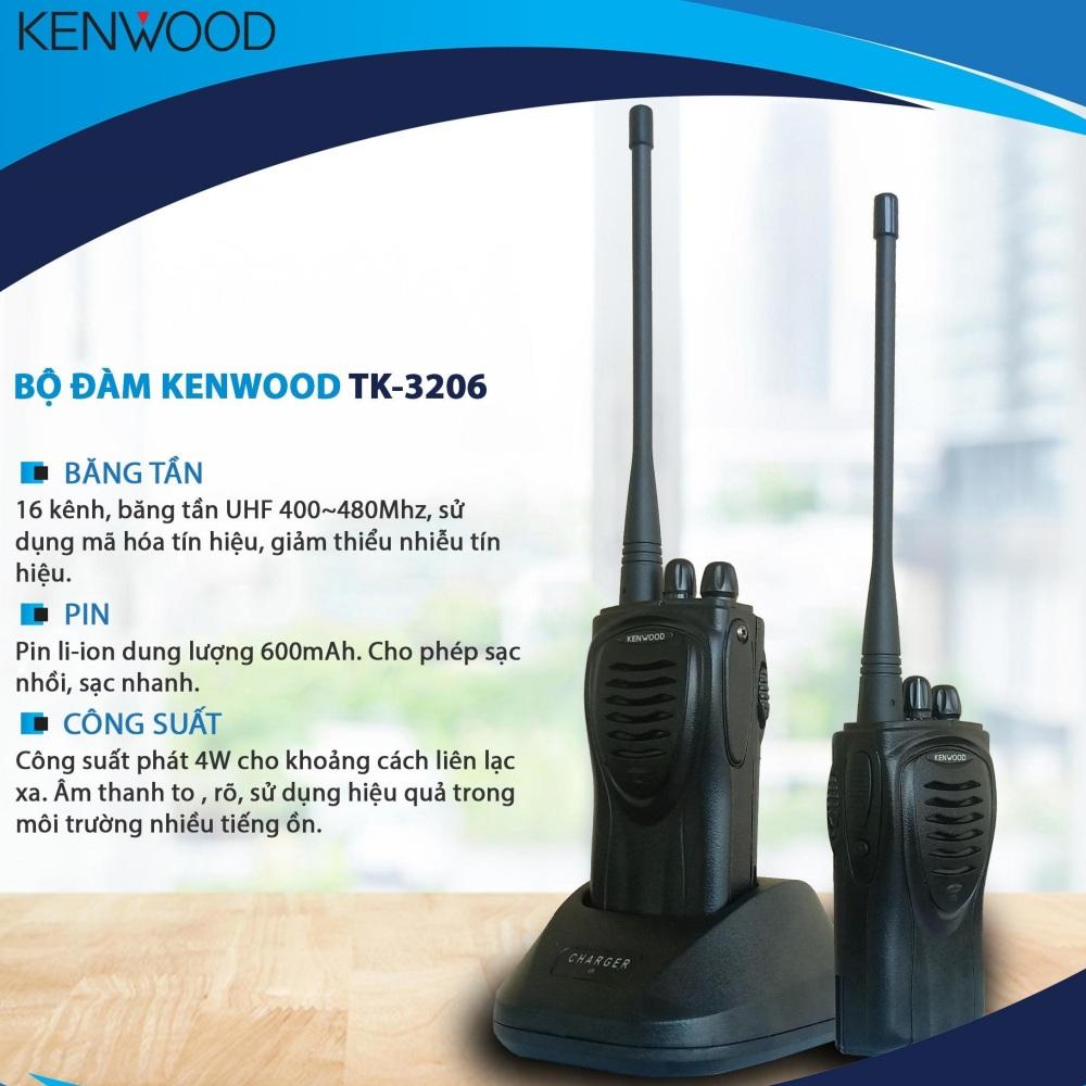 Bộ đàm Kenwood Tk-3206