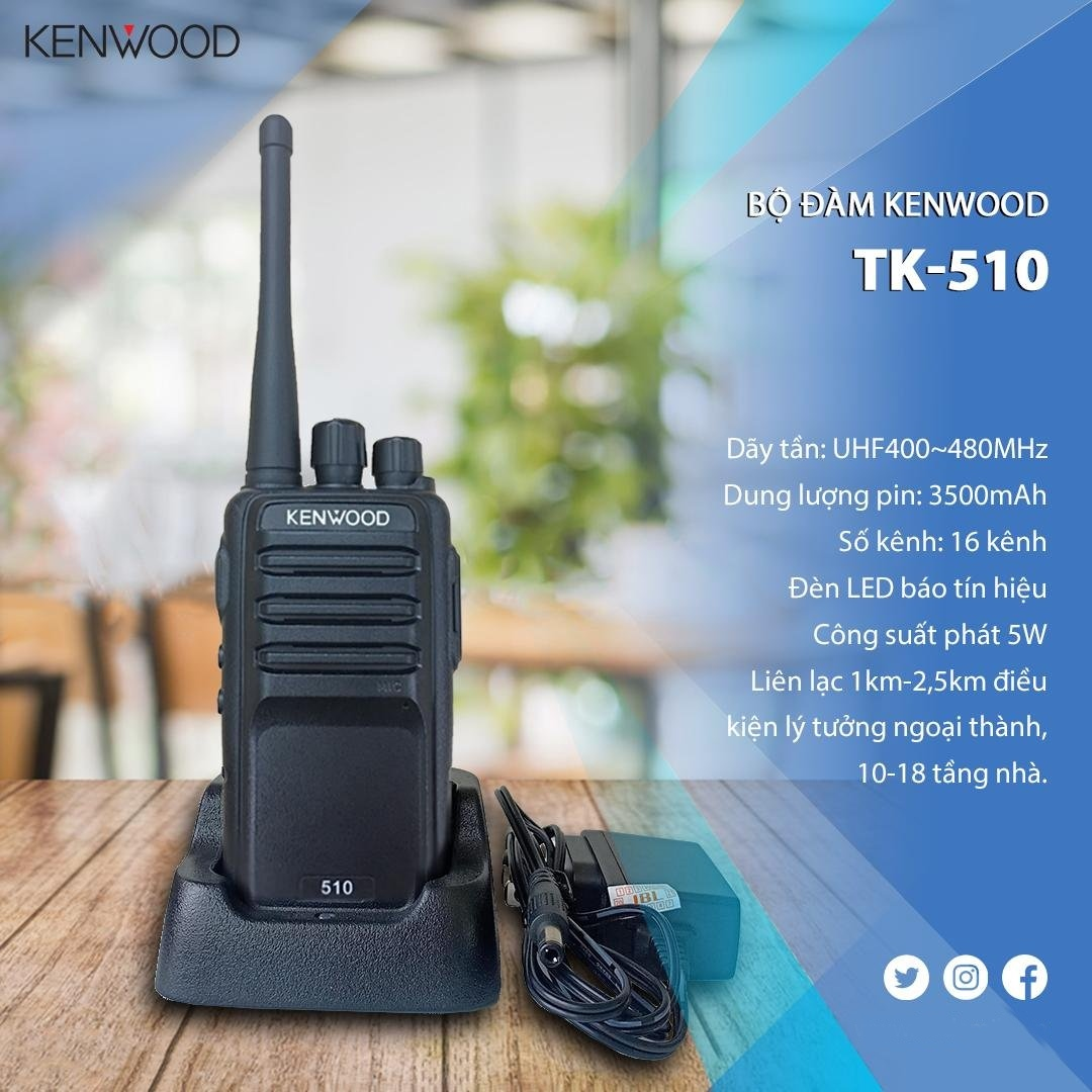 Bộ đàm Kenwood TK-510
