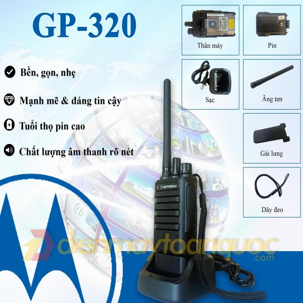 Bộ đàm Motorola GP-320
