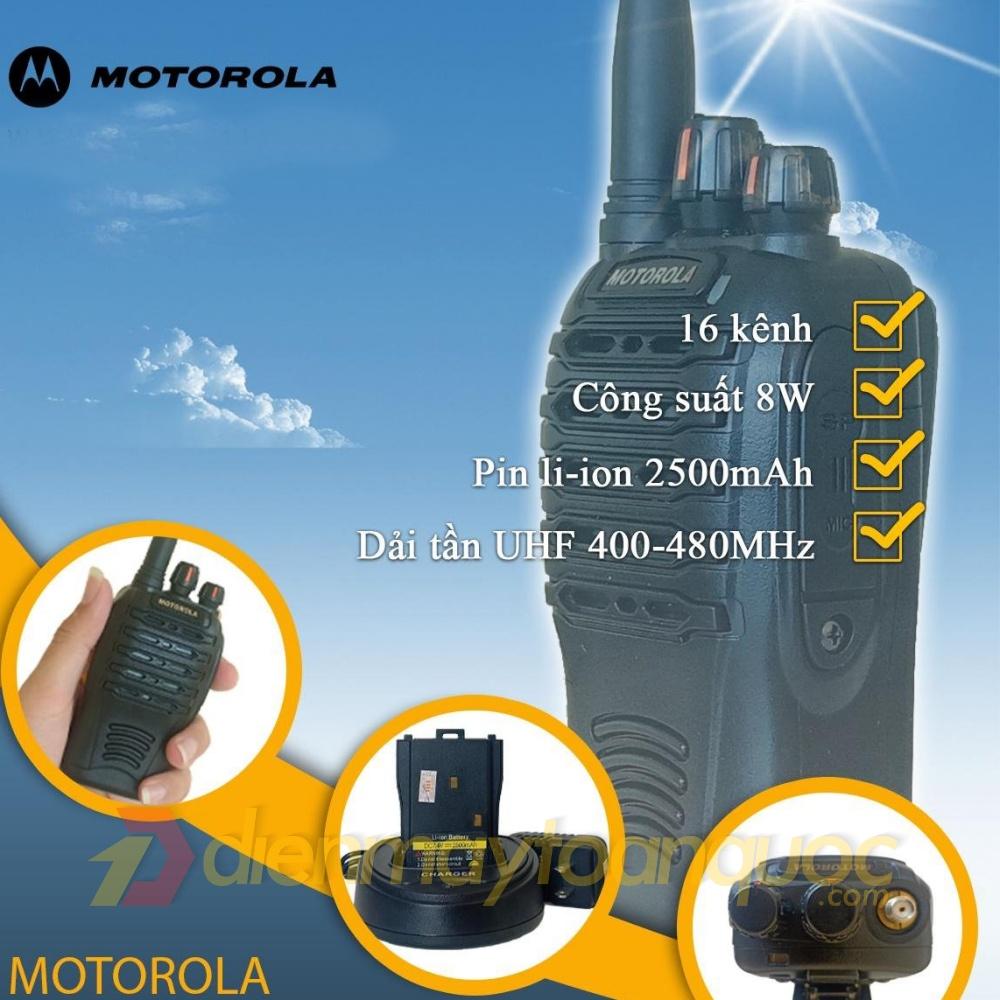Motorola GP-368 Plus - Máy bộ đàm cầm tay