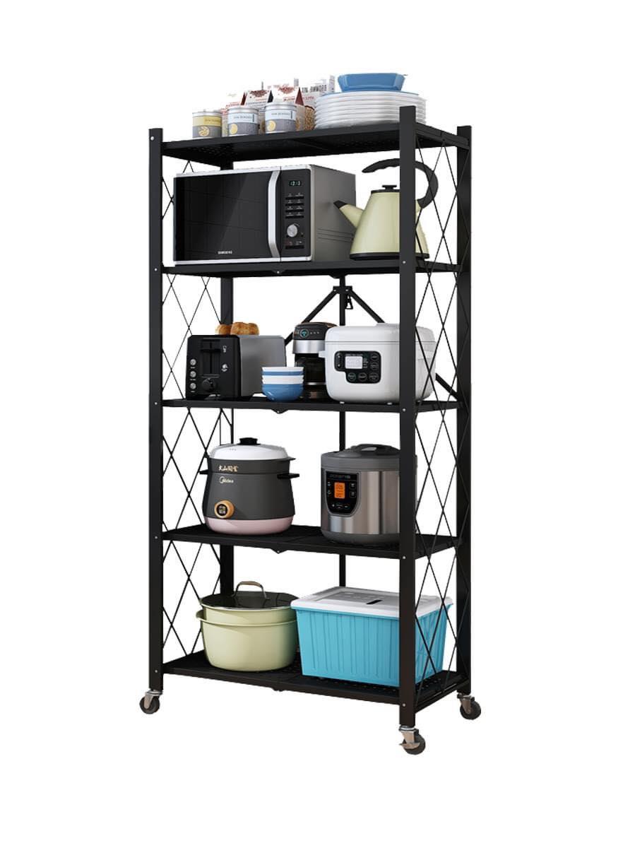 Kệ xếp đa năng 4 tầng G-A4 - Linh hoạt phù hợp mọi không gian trong nhà - Thép carbon, sơn tĩnh điện 3 lớp