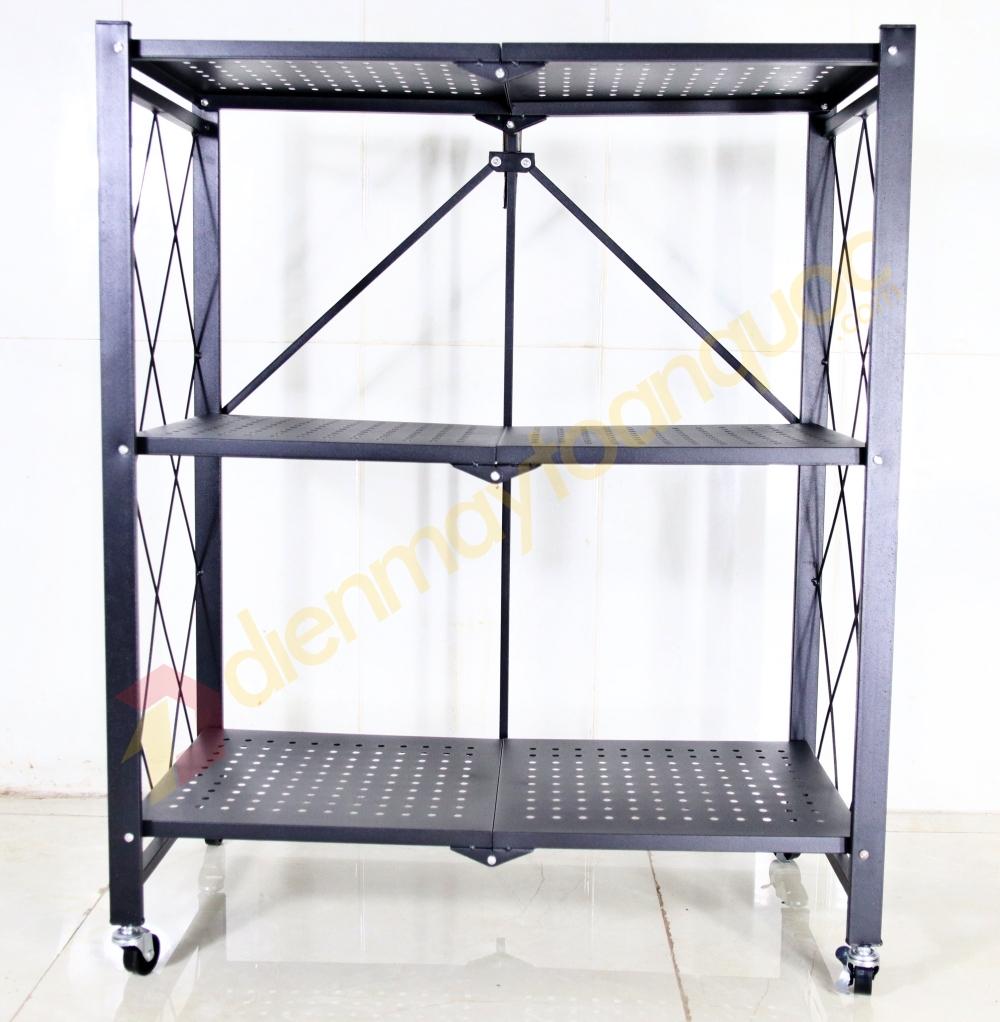 Kệ xếp đa năng3 tầng G-A3 - Linh hoạt phù hợp mọi không gian trong nhà - Thép carbon, sơn tĩnh điện 3 lớp
