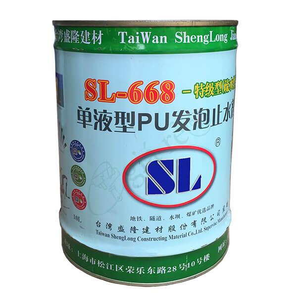 Shenglong SL-668 - Keo PU trương nở - Keo chống thấm - thùng 10kg