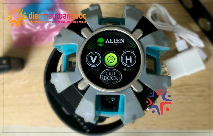 Máy cân bằng Laser ALIEN AL5-50X 5 bóng tia xanh siêu sáng