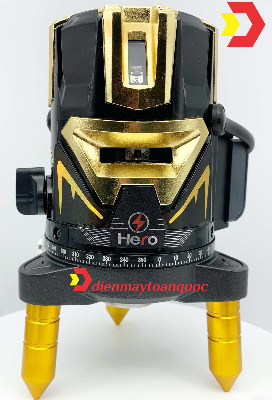 Máy cân bằng laser 5 tia xanh Hero LUX-1.0B