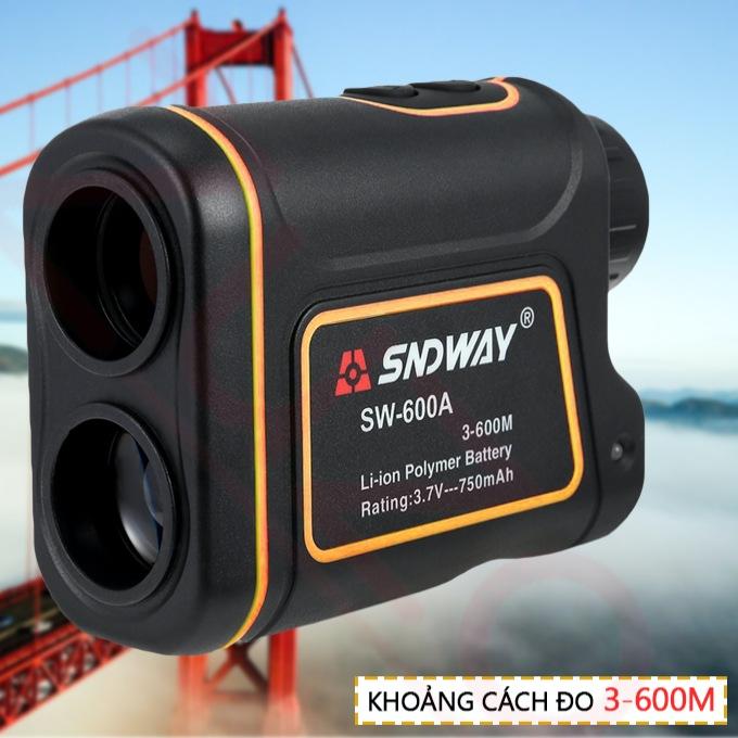 Ống nhòm - Máy đo khoảng cách điện tử Laser SNDWAY SW-600A - Chống nước IP54