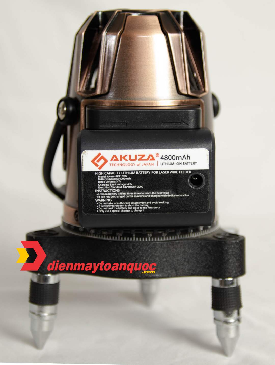 Máy cân bằng laser AKUZA AK-1102 PRO MAX 5 tia xanh siêu sáng