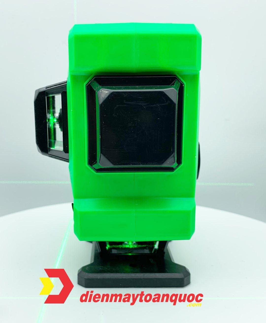 Máy cân bằng laser AKUZA AK-3DS - Máy cân mực, bắn cốt, đánh thăng bằng laze 12 tia xanh - Hàng chính hãng
