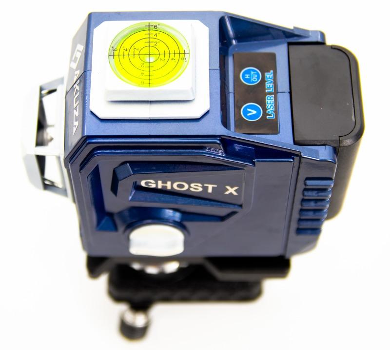 Máy Cân Bằng Laser AKUZA AK-Ghost X - Máy cân mực, bắn cốt, đánh thăng bằng laze 12 tia xanh - Hàng chính hãng