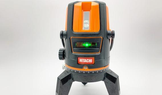 Máy cân bằng laser 5 tia xanh Hitachi