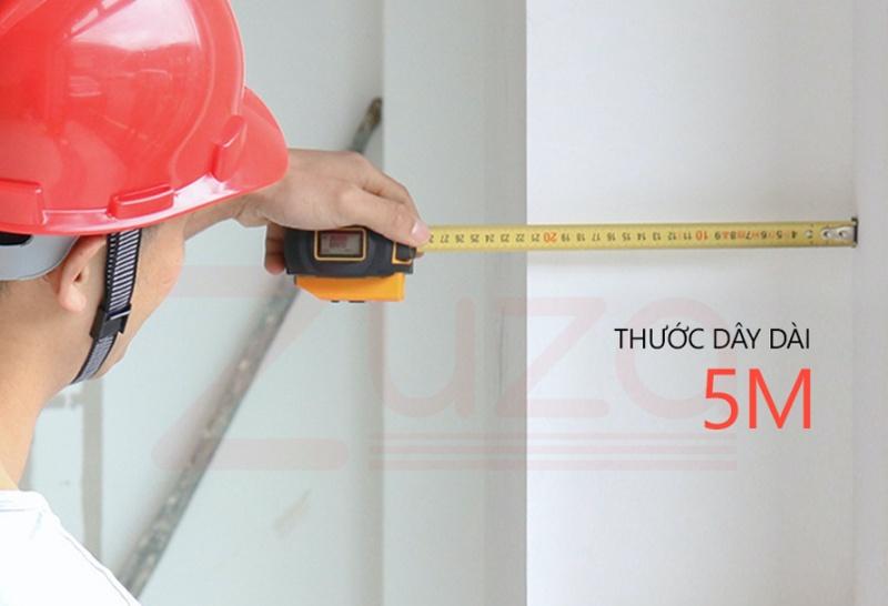 SNDWAY SW-TM40 - Thước dây, Thước đo khoảng cách laser điện tử 2 trong 1