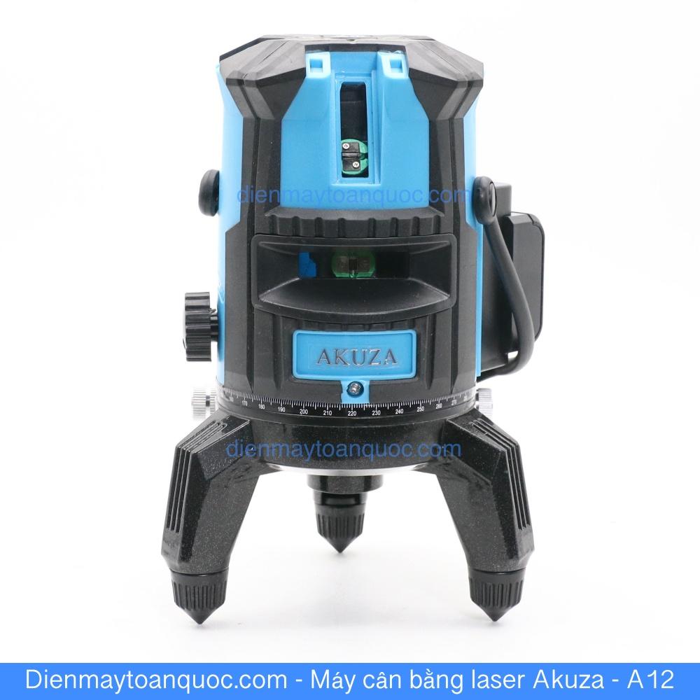 Máy cân bằng laser Akuza A12 cân mực, bắn cốt, đánh thằng bằng 5 tia xanh