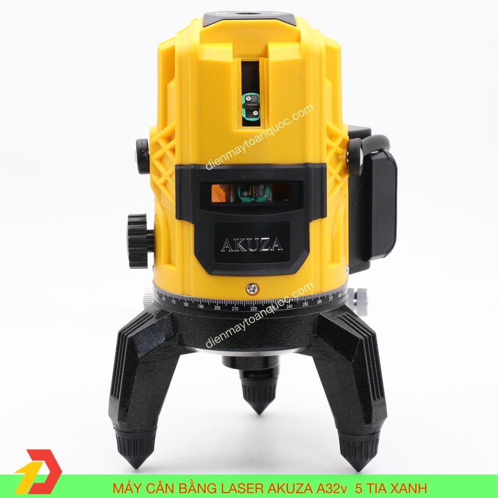 Máy cân bằng laser Akuza A32v cân mực, bắn cốt, đánh thằng bằng 5 tia xanh