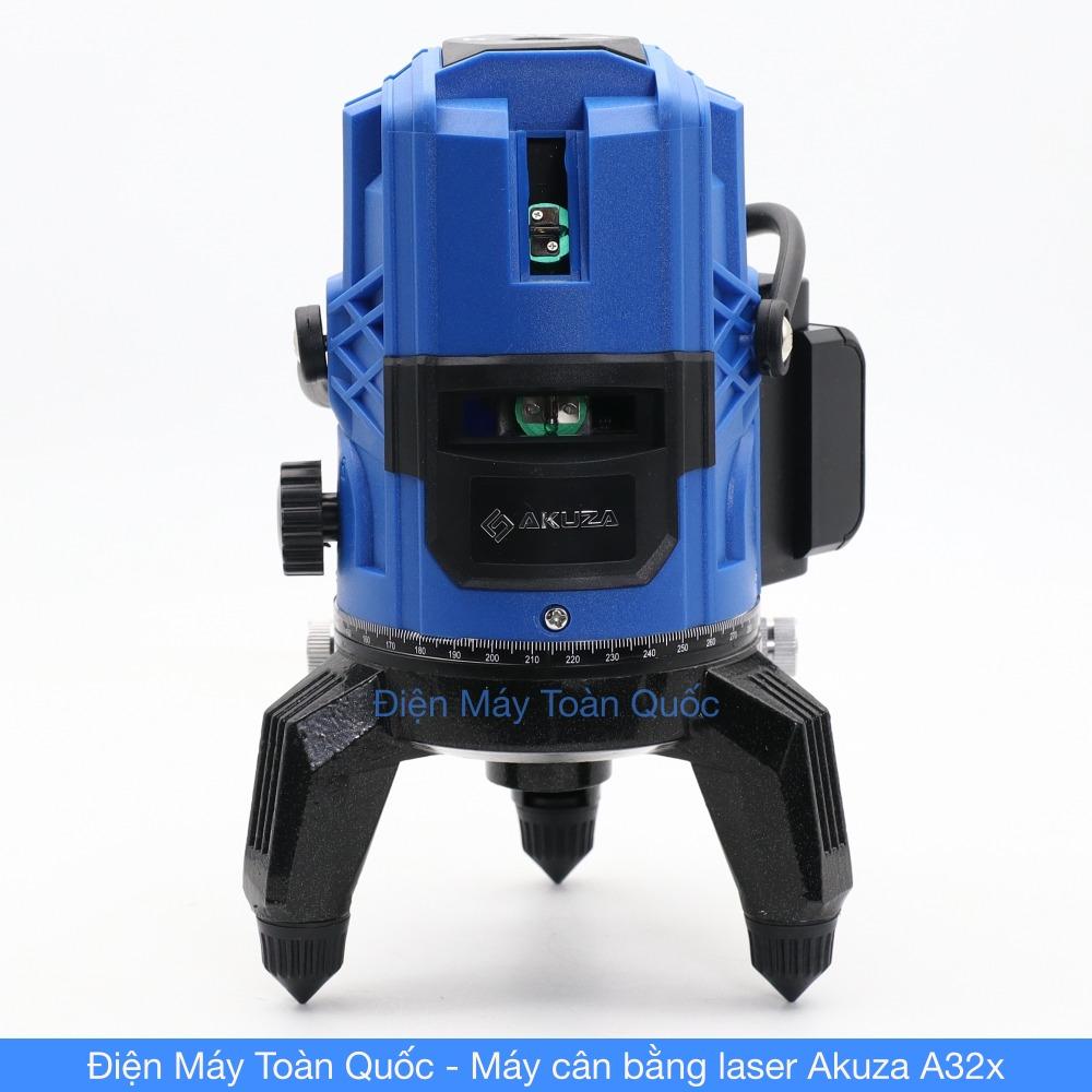 Máy cân bằng laser Akuza A32x cân mực, bắn cốt, đánh thằng bằng 5 tia xanh