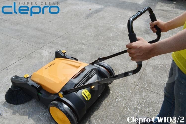 Máy quét rác đẩy tay Clepro CW103/2