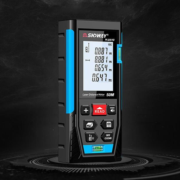 SNDWAY H-D510 - Máy đo khoảng cách, tính diện tích, đo chiều cao