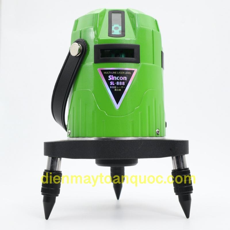 Máy cân bằng laser Motor Sincon SL-888 (sử dụng motor cân bằng tự động)