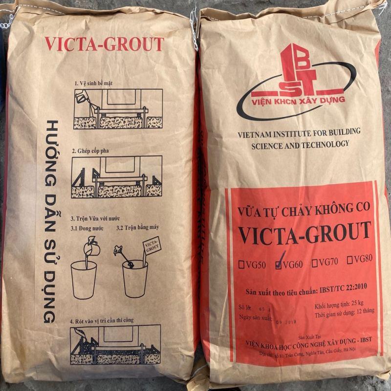 Victa grout VG-60 - Vữa tự chảy không co ngót