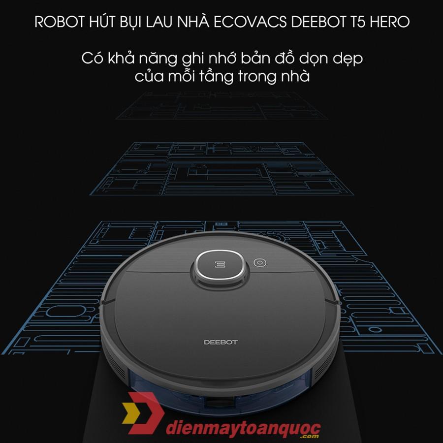 Robot hút bụi Ecovacs Deebot T5 Hero