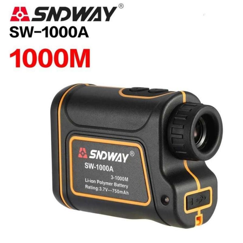 SNDWAY SW-1000A - Ống nhòm săn Golf Máy đo khoảng cách điện tử Laser 1000m - Chống nước IP54